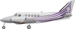 Beechcraft King Air A100 Image