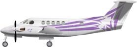 Beechcraft King Air 200 Raisbeck Image